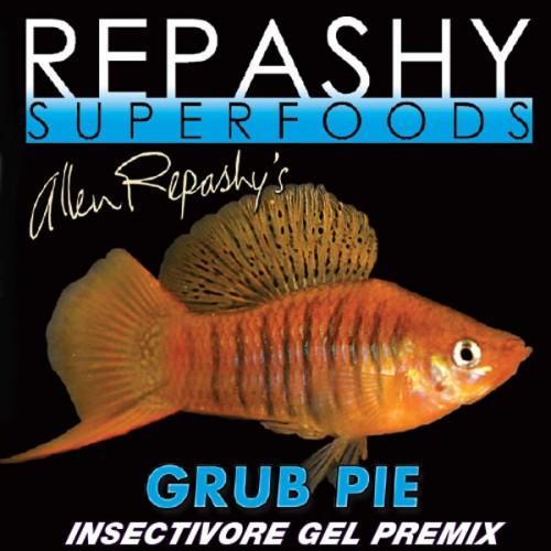 Repashy grub pie fish 84gr for Cibo per pesci tropicali