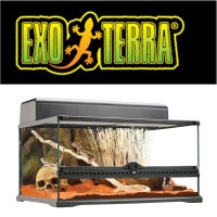 EXO TERRA NATURAL TERRARIUM MEDIUM/LOW 60X45X30CM