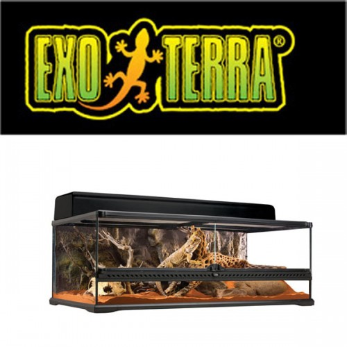 Exo Terra Natural Terrarium Large Low 90x45x30cm