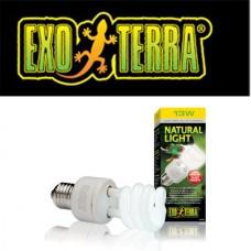 EXO TERRA NATURAL LIGHT 13W 2%