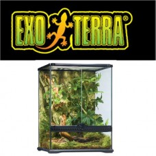 EXO TERRA NATURAL TERRARIUM SMALL/TALL 45X45X60CM